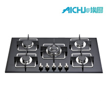 8MM Tempered  Glass 5 Buners Gas Hob